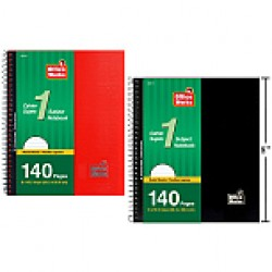 """Notebook - 8"""" x 10"""" - 1 Subject ~ 140 pages"""