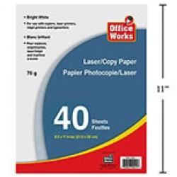 Laser / Copy Paper ~ 40 sheets
