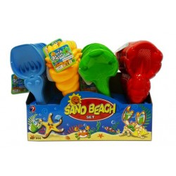 """Beach Tools - 4 assorted styles ~ 14.5"""""""