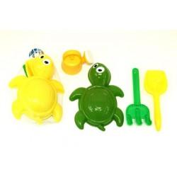 Turtle Beach Toys ~ 4 piece set