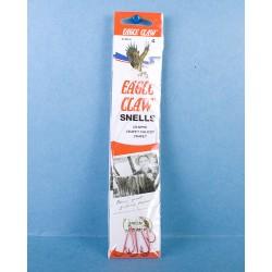 Eagle Claw Snelled Carlisle Hooks