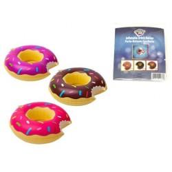 "Inflatable Donut Drink Holder ~ 8"" diameter"