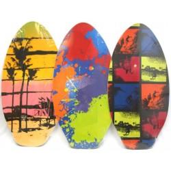 "Painted Wood Skim Board ~ 42"""