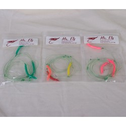 Mr Fly Mackerel Color Tube Jigs ~ 3 per string