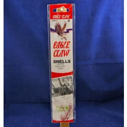 Eagle Claw Snelled Aberdeen Offset Hooks