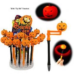Halloween Light-Up Pumpkin Pens