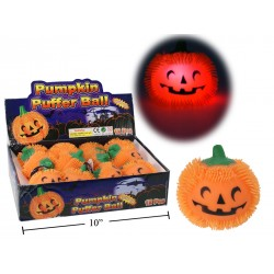 Halloween Flashing Pumpkin Ball ~ 12 per display