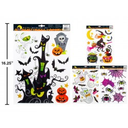 Halloween Holographic Window Cling
