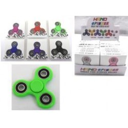 Deluxe Hand Spinners ~ 6 assorted colors