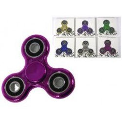 Deluxe Metallic Hand Spinners ~ 6 assorted colors