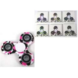 Deluxe Camo Hand Spinners ~ 6 assorted colors