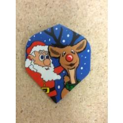 Metronic Flights ~ Santa & Rudolph