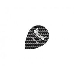 Graflite Flights ~ Black & Grey Pear