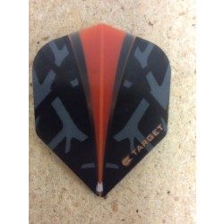 Target Vision Flights ~ Black with Orange