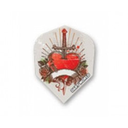 Dartworld Poly ~ Heart w/Sword