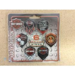 Harley Davidson Flights ~ Six-Pack