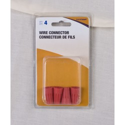 Twist-On Wire Connectors, Large #35 ~ Red