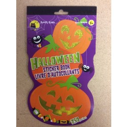 Halloween Shaped Sticker Book ~ 80 stickers