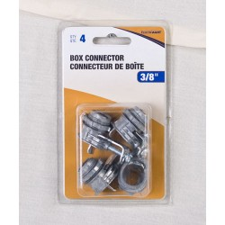 1-Screw Box Connector - 4 per bag ~ 3/8""