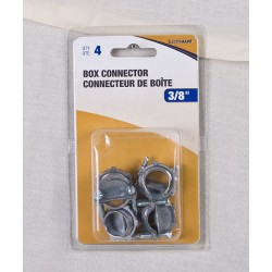 2-Screw Box Connector - 4 per bag ~ 3/8""