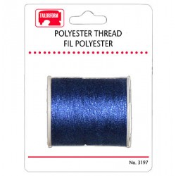 Sewing Thread - Carded ~ Navy