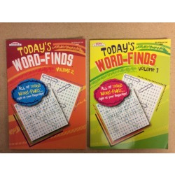 Word Find Books ~ Today's Word-Finds