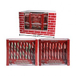 Christmas Candy Canes - Peppermint ~ 10 per box