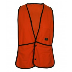 Fl. Orange Fleece Hunting Vest