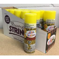 Yellow Streamer String ~ 3oz tin