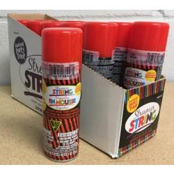Red Streamer String ~ 3oz tin