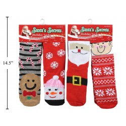 Christmas Adult Socks ~ 2 pairs per pack