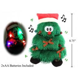 """Christmas 10"""" Animated Dancing Xmas Tree with Music & Lights"""