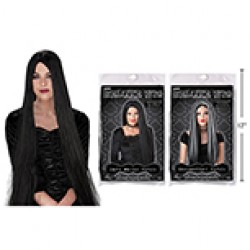 "Halloween Adult Witch Wig ~ 24""L"