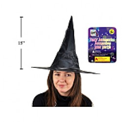 Halloween Adult's Witch Hat