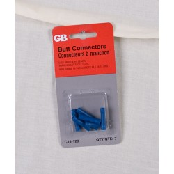 Butt Splice Connectors 16-14 AWG ~ Blue