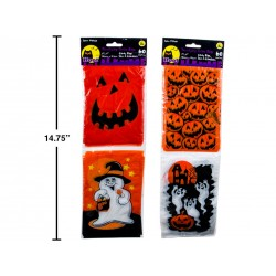 Halloween Candy Bags - 2 patterns ~ 60 per pack