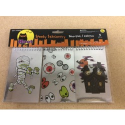 Halloween Notebook - 60 pages ~ 3 per pack