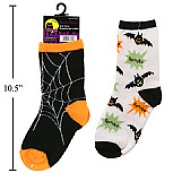 Halloween Socks ~ Kid's Size 7 - 9