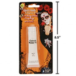 Halloween White Make-Up Cream ~ 1oz tube