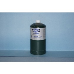 Short Green Propane Canister ~ 16.5oz