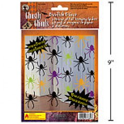 Halloween Hanging Spider Decoration w/5' Strings
