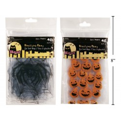 Halloween Zip Seal Bags ~ 40 per pack