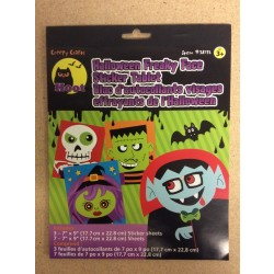 Halloween Freaky Face Sticker Tablet
