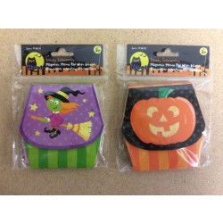 Halloween Magnetic Memo Pad w/Glitter
