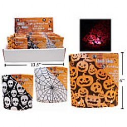 "Halloween Light-Up Table Top Decoration ~ 6"" x 2"" x 6""H"