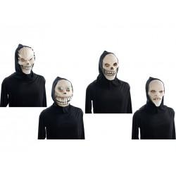 Halloween Glow in the Dark Goon Mask with Hood