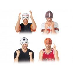 Halloween Sportball Half Mask