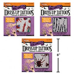 Halloween Dress-Up Tattoos