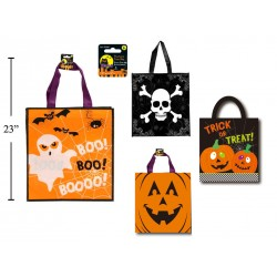 "Halloween Trick or Treat Bags - 14"" x 15"" ~ 2 per pack"
