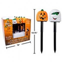 Halloween LED Light-Up Lawn Stakes ~ 12 per display